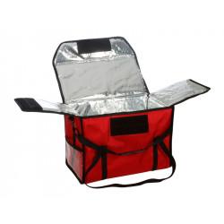Термосумка для обедов 500х250х350 мм фольгированная - интернет-магазин КленМаркет.ру