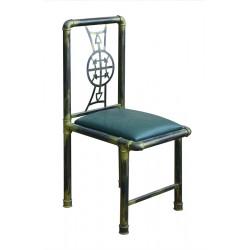 Стул «Пайплайн» с мягким сиденьем - интернет-магазин КленМаркет.ру