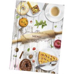 Папка для меню «Скалка» из кашированного картона - интернет-магазин КленМаркет.ру