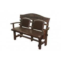 Скамейка-кресло Тор 1800 мягкая  - интернет-магазин КленМаркет.ру