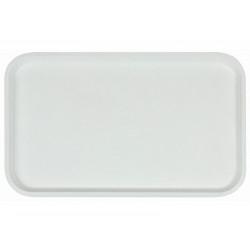 Поднос столовый из полипропилена 530x330 мм белый - интернет-магазин КленМаркет.ру