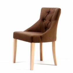 Стул «GL591C с пуговицами» с мягким сиденьем (деревянный каркас) - интернет-магазин КленМаркет.ру