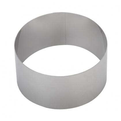 Форма для выпечки/выкладки «Круглая» Luxstahl диаметр 100 мм - интернет-магазин КленМаркет.ру