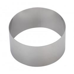 Форма для выпечки/выкладки «Круглая» Luxstahl диаметр 70 мм - интернет-магазин КленМаркет.ру