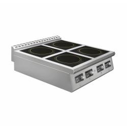 Плита индукционная Luxstahl ПИ 4-98 - интернет-магазин КленМаркет.ру