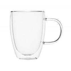 Кружка для чая-кофе 350 мл с двойными стенками [DC094] - интернет-магазин КленМаркет.ру