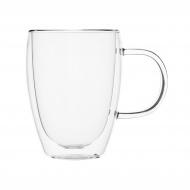 Кружка для чая-кофе 350 мл с двойными стенками [DC094]
