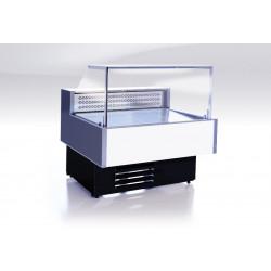 Витрина холодильная Gamma Quadro 1500 LED (RAL9016/7016) - интернет-магазин КленМаркет.ру