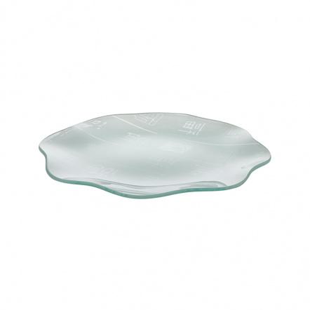 Тарелка с волнистым краем «Corone Aqua» 300 мм