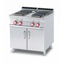 Плита электрическая LOTUS PCQ-78ET четырехконфорочная без жарочного шкафа (серия 70)