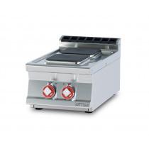Плита электрическая LOTUS PCQT-74ET двухконфорочная без жарочного шкафа (серия 70)