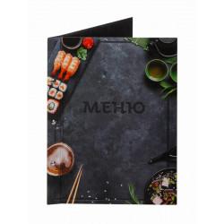 Папка для меню «Суши» - интернет-магазин КленМаркет.ру