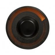 Тарелка для пасты «Corone» 230 мм черная