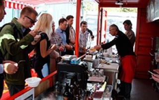 Мастер-класс и презентация «Фуд Бокс Кафе» на фестивале «Октоберфест 2.0»