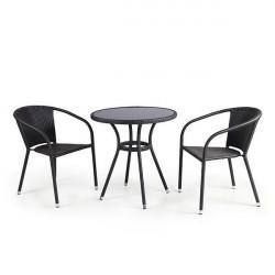 Комплект мебели «Штайн-2» из искусственного ротанга - интернет-магазин КленМаркет.ру