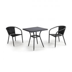 Комплект мебели «Штайн-3» из искусственного ротанга - интернет-магазин КленМаркет.ру