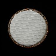 Тарелка мелкая «Provence» 255 мм рифленая