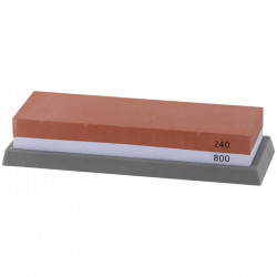 Камень точильный комбинированный 240/800 Premium Luxstahl [T0851W] - интернет-магазин КленМаркет.ру