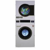 Профессиональная сдвоенная машина ВССК-10 (стиральная машина+сушильная машина)