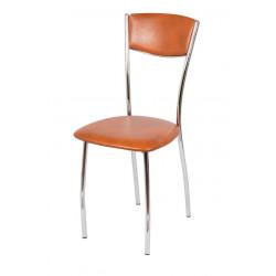 Стул «Амарант Хром» с мягким сиденьем - интернет-магазин КленМаркет.ру