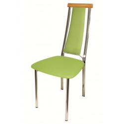 Стул «Экстра с мягкой спинкой» с мягким сиденьем (хромированный каркас) - интернет-магазин КленМаркет.ру