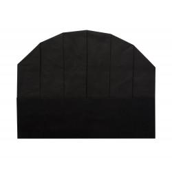 Колпак поварской одноразовый чёрный [86051]  - интернет-магазин КленМаркет.ру