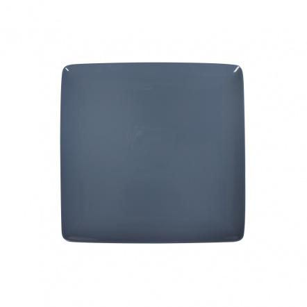 Блюдо квадратное «Corone» 264х264мм синее