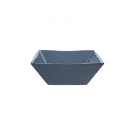 Салатник квадратный «Corone» 200 мл синий