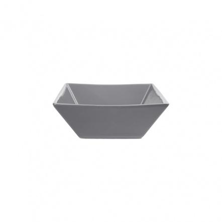 Салатник квадратный «Corone» 200 мл серый