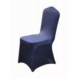 Чехол универсальный на стул темно-синий - интернет-магазин КленМаркет.ру