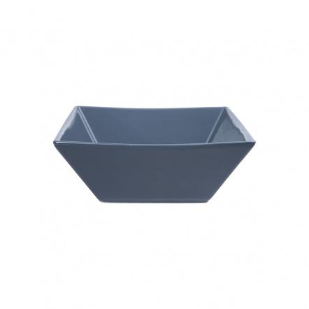 Салатник квадратный «Corone» 600 мл синий