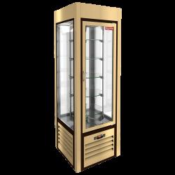 Витрина кондитерская вертикальная с вращением HICOLD VRC 350 R Sh Be 284295 - интернет-магазин КленМаркет.ру