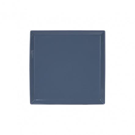 Тарелка квадратная «Corone» 169 мм синяя