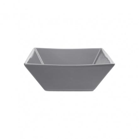 Салатник квадратный «Corone» 600 мл серый