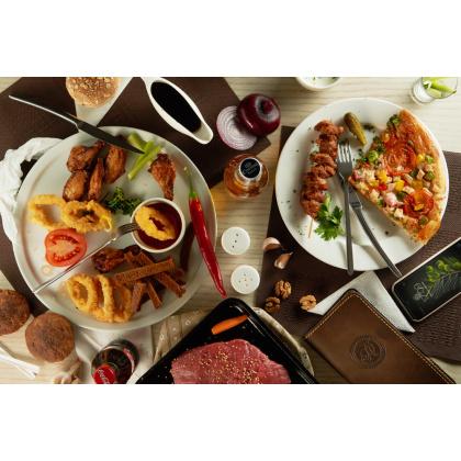Вилка закусочная «Аляска» Luxstahl [H009] - интернет-магазин КленМаркет.ру