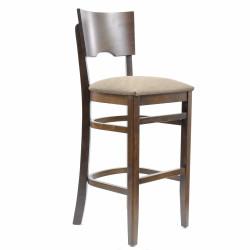 Стул барный «Йорк» с мягким сиденьем (деревянный каркас) - интернет-магазин КленМаркет.ру