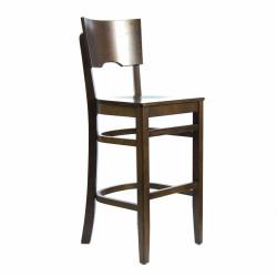 Стул барный «Йорк» с жестким сиденьем (деревянный каркас) - интернет-магазин КленМаркет.ру