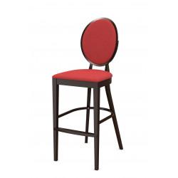 Стул барный «Ницца» с мягким сиденьем (деревянный каркас) - интернет-магазин КленМаркет.ру