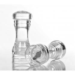 Набор мельниц для соли и перца 150 мм прозрачные акриловые [NH9775] - интернет-магазин КленМаркет.ру
