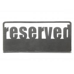 Табличка настольная «Reserved 1» Luxstahl 140х50 мм  - интернет-магазин КленМаркет.ру