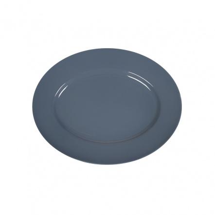 Блюдо овальное «Corone» 202х160 мм синее