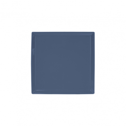 Тарелка квадратная «Corone» 127 мм синяя