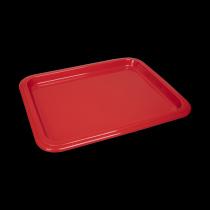 Гастроемкость керамическая 330х268х20 мм «Corone Cottura» красная