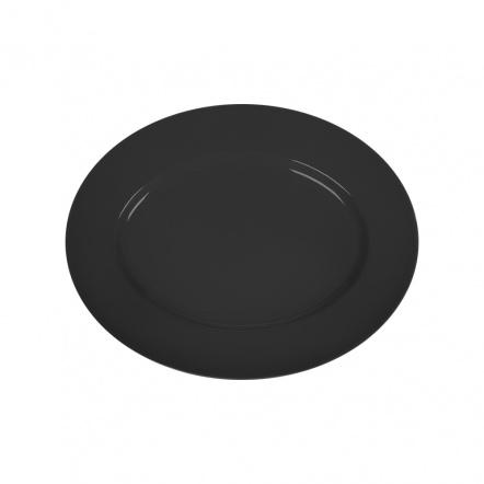 Блюдо овальное «Corone» 285х225 мм черное