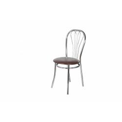 Стул «Венус» с мягким сиденьем (хромированный каркас) - интернет-магазин КленМаркет.ру