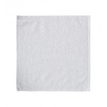 Салфетка махровая 30х30 см «Ошибори» белая хлопок