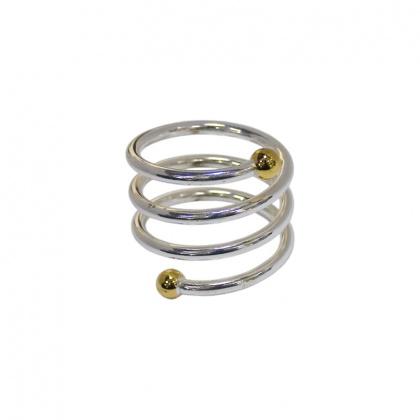 Кольцо для салфеток 40 мм спираль [TT-1S2] - интернет-магазин КленМаркет.ру