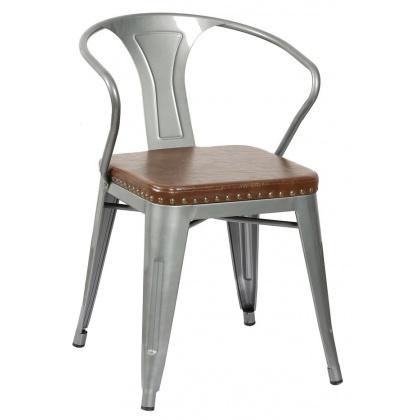 Стул «TOLIX Weapon Soft» с мягким сиденьем (окрашенный каркас) - интернет-магазин КленМаркет.ру