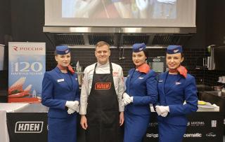 Авиакомпания «Россия» провела презентацию бортового питания на рейсах из Санкт-Петербурга
