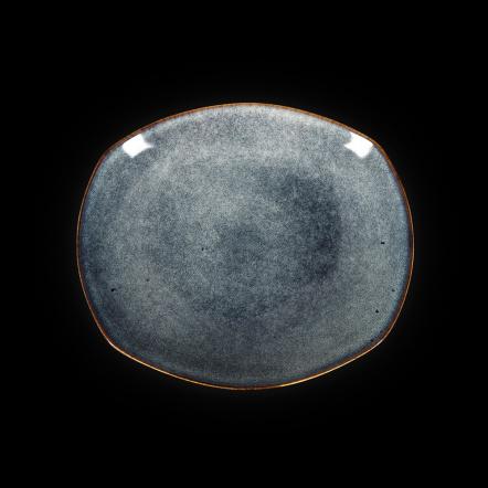 Тарелка овальная «Corone Celeste» 257х225 мм синий